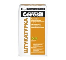 Штукатурка цементная Ceresit, 25кг