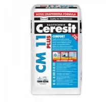 Клей для плитки усиленной фиксации Ceresit СМ 11 Plus, 25кг