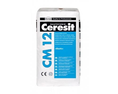 Клей для плитки ГРЕС Ceresit СМ 12, 25кг