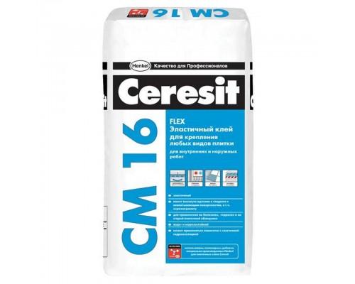 Клей для плитки Ceresit СМ 16, 25кг