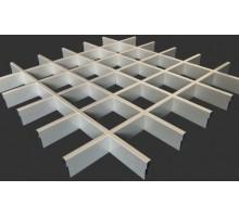 Потолок Грильято Албес стандартная ячейка 120х120мм