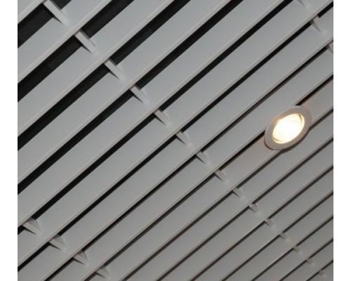 Потолок Грильято Жалюзи 50×300мм