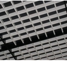 Потолок Грильято разноуровневый 100x100мм