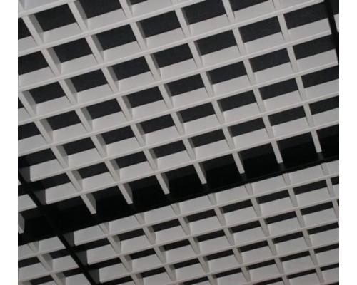 Потолок Грильято разноуровневый 60x60мм