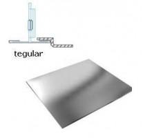 Кассетный потолок Албес AР600А6 Tegular металлик (45º, Т-24)