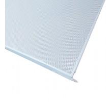 Кассетный потолок AP600АС/45° белый матовый А902 rus перф. с акуст. Эконом