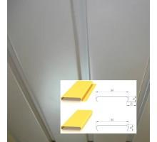 Реечный потолок итальянский дизайн A84AС Албес 3 м.
