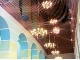 Реечный потолок - итальянский дизайн