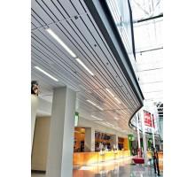 Реечный потолок прямоугольный дизайн A100SV Албес открытого типа