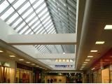 Радиусный реечный потолок