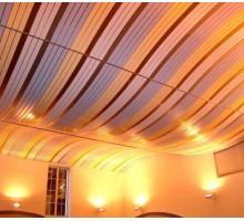 Радиусный реечный потолок Бард Албес
