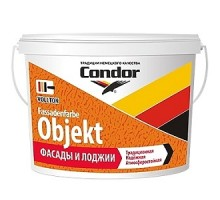 Краска для фасадов и лоджий Condor Fassadenfarbe Objekt 15л (22,5 кг)
