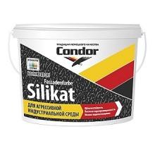 Высокостойкая краска для фасадов Condor Fassadenfarbе-Silikat 10л (14,5 кг)
