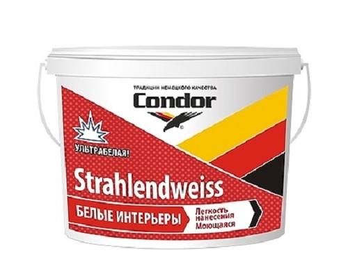 Краска моющаяся повышенной белизны Condor Strahlendweiss 15 кг