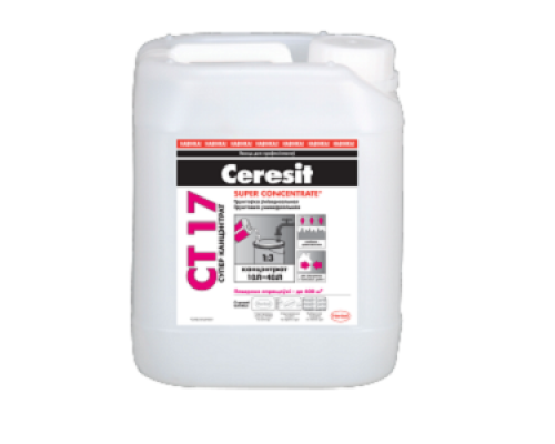 Грунтовка Ceresit CT17 Super Concentrate (1к3) 10л