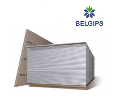 Гипсокартон БелГипс стеновой 12,5х1200х2500 (лист 3м2)
