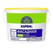 Краска Kapral E20 (Капрал) фасадная 22,5кг (15л)